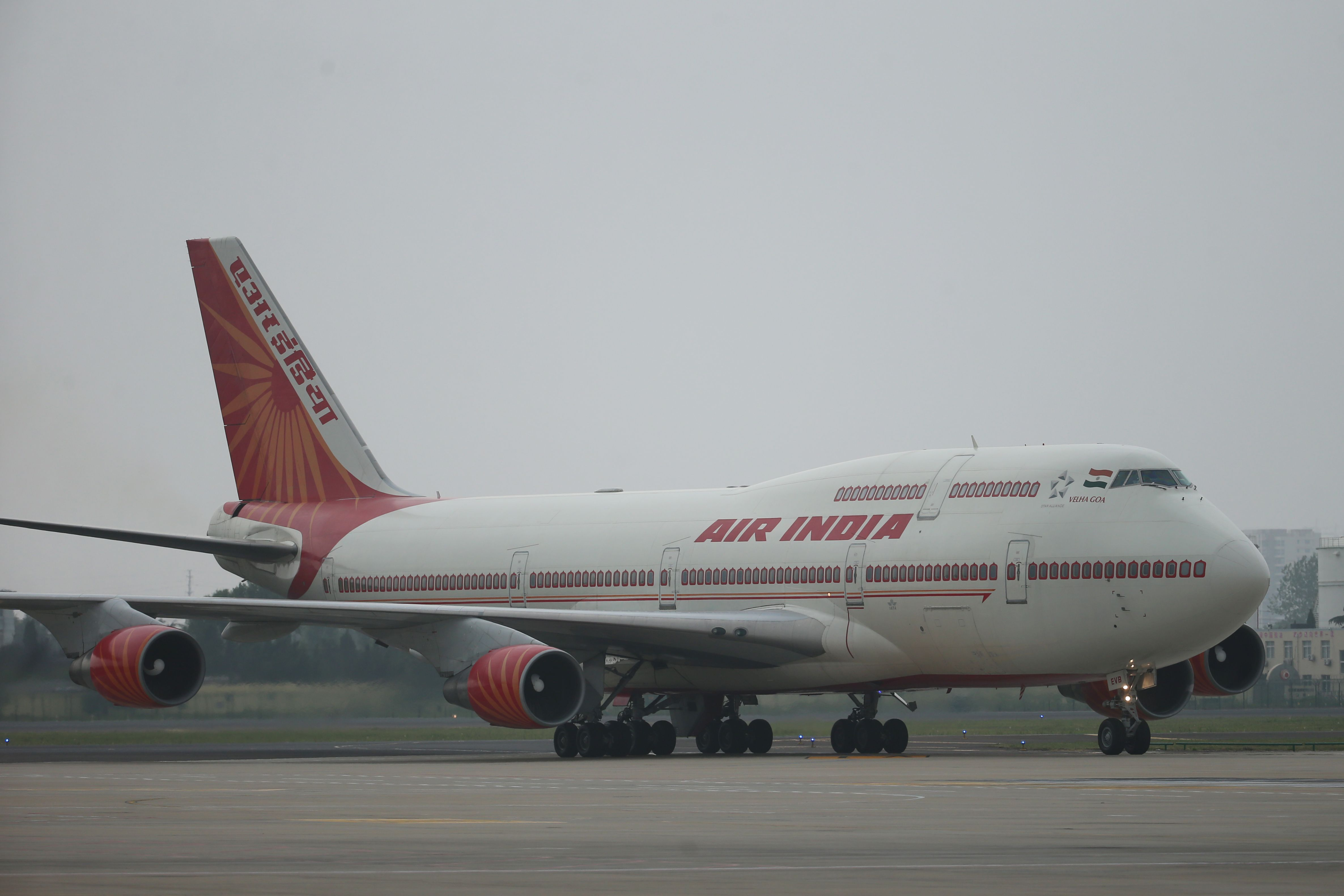 Crew Aboard India's National Airline Have Been Ordered to 'Hail the Motherland'