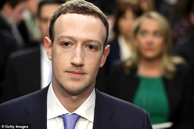 Facebook is being investigated for allegedly sharing its users' data with dozens of tech companies without their knowledge. CEO Mark Zuckerberg (pictured) has faced questioning over how user data is handled