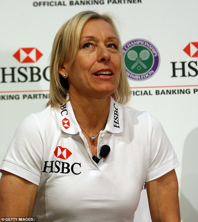 Martina Navratilova has said it is unfair that a transgender woman can compete as a female by just lowering testosterone levels with drugs and that they do not need to have sex-change surgery. She said: 'It's insane and it's cheating'