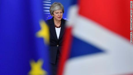 British Prime Minister Theresa May is attempting to get her Brexit deal through Parliament.