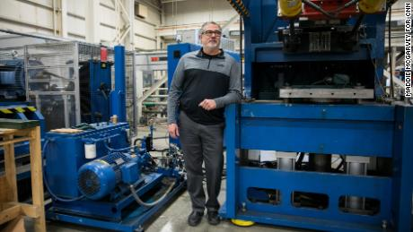 Frank Deley is the president of Taylor-Winfield, a company that makes tools for manufacturers all over the world.