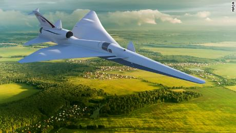 NASA will use the data collected as part of their development of the X-59 Quiet SuperSonic Technology X-plane, which they hope will produce only a quiet rumble rather than a sonic boom.
