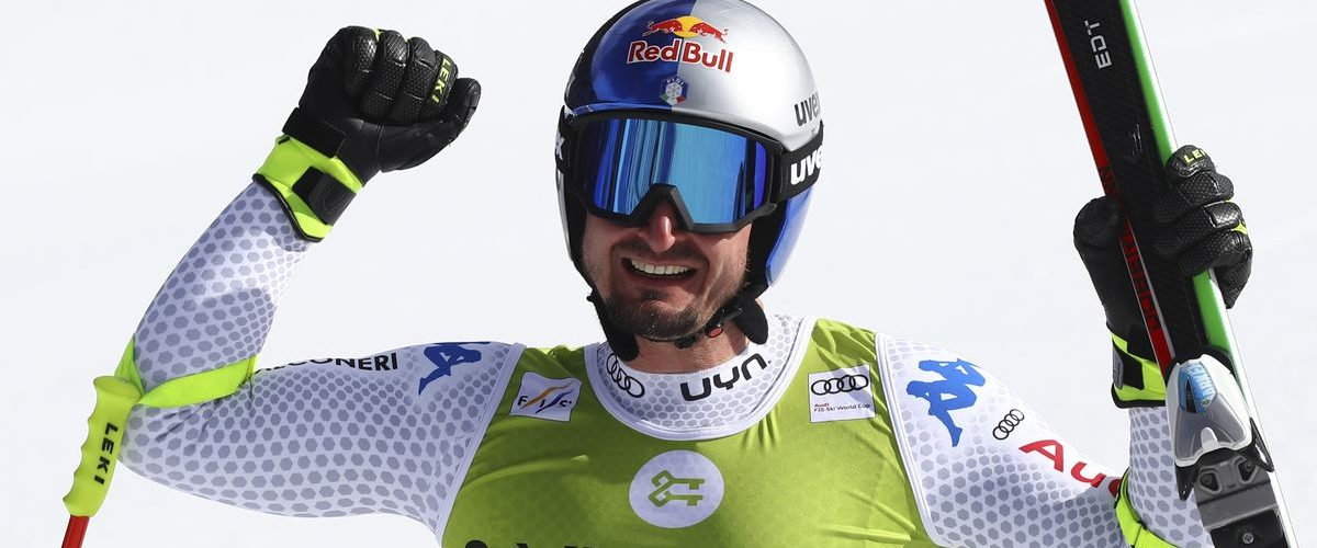 Paris wins last downhill, Feuz retains World Cup title