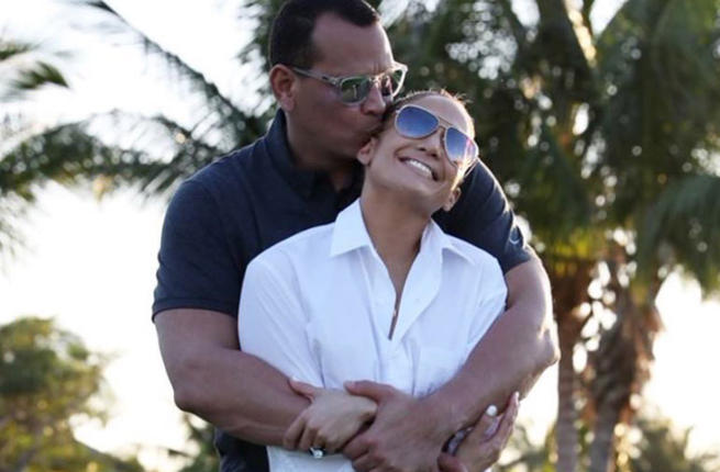 the couple couldn't be happier together (Source: arod / Instagram)