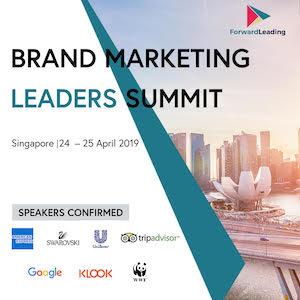 Brand Marketing Leaders Summit Singapore 2019