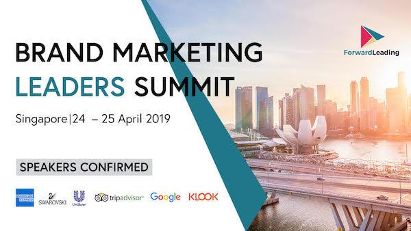 Brand Marketing Leaders Summit Singapore 2019 banner 600x338