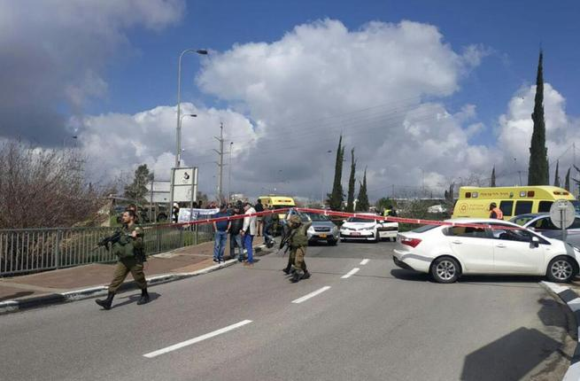 West Bank checkpoints (Twitter)