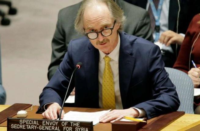 UN envoy to Syria Geir Pedersen (Twitter)