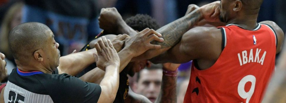 Ibaka, Chriss ejected after trading punches