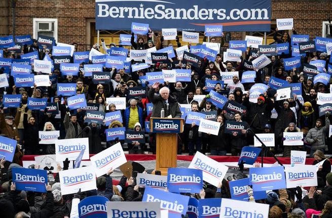 Bernie Sanders announced on April 2, 2019 that he raised $18 million since launching his 2020 presidential campaign. (AFP/ File Photo)