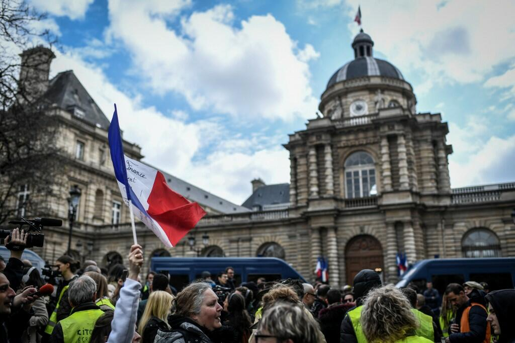 No Protests on Weekend French Police Tell Yellow Vests
