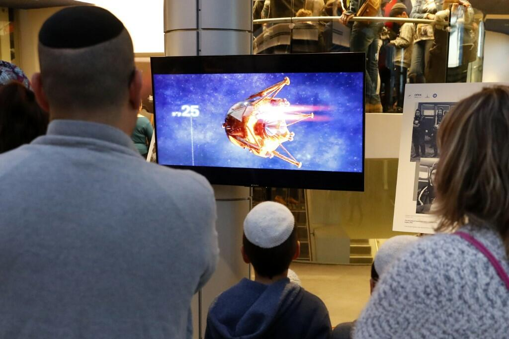 Israeli Spacecraft Crashes Before Landing on the Moon