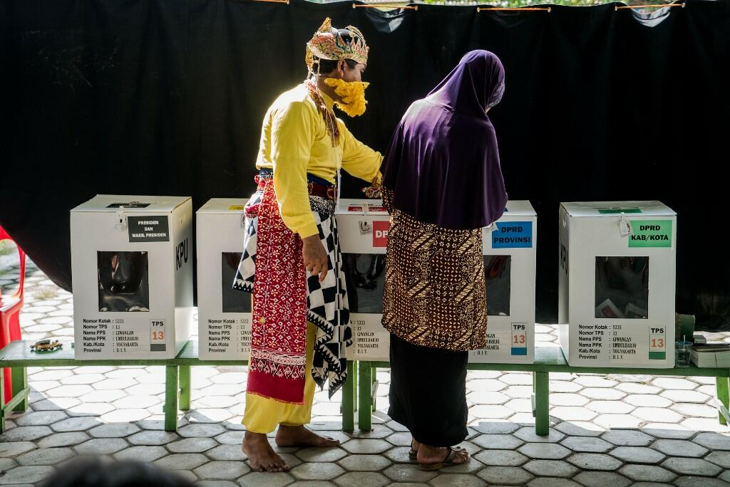 Indonesians Vote in the World's Biggest One-day Elections