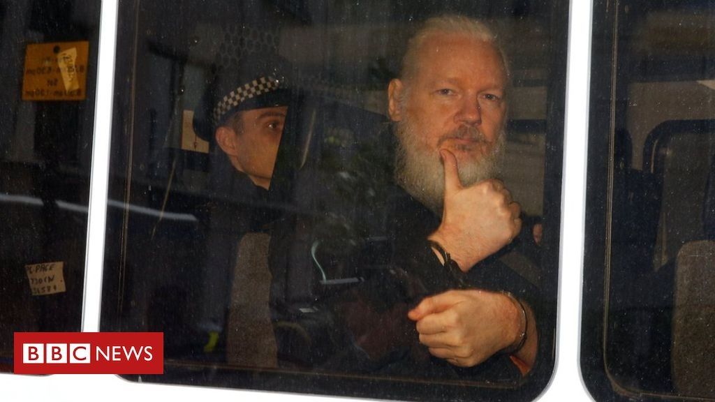 Julian Assange: Sweden considers reviving rape inquiry