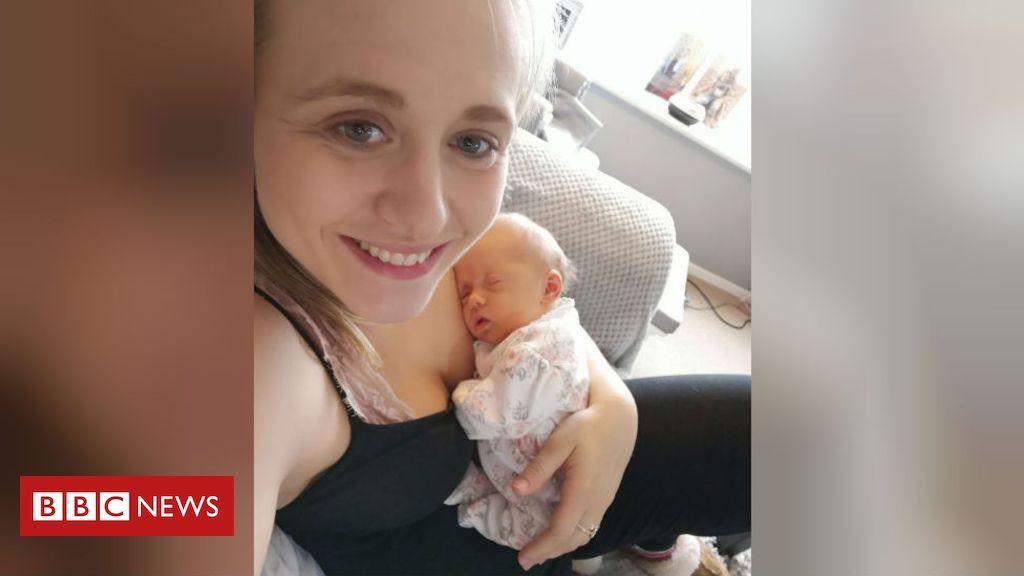 Spina bifida womb op baby back home in Essex
