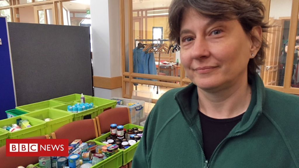 Food bank supplies help record numbers