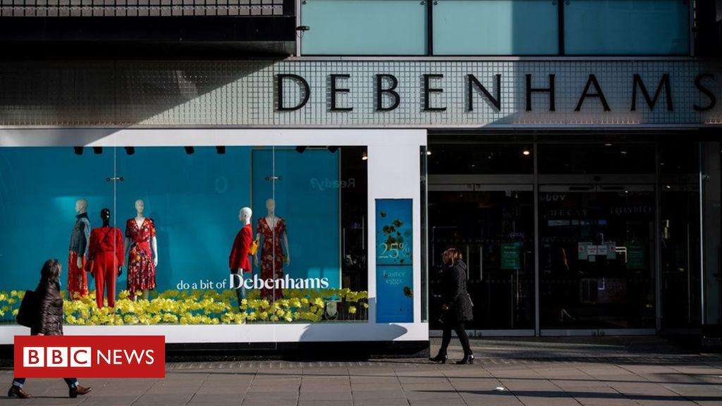 Debenhams names 22 stores to close