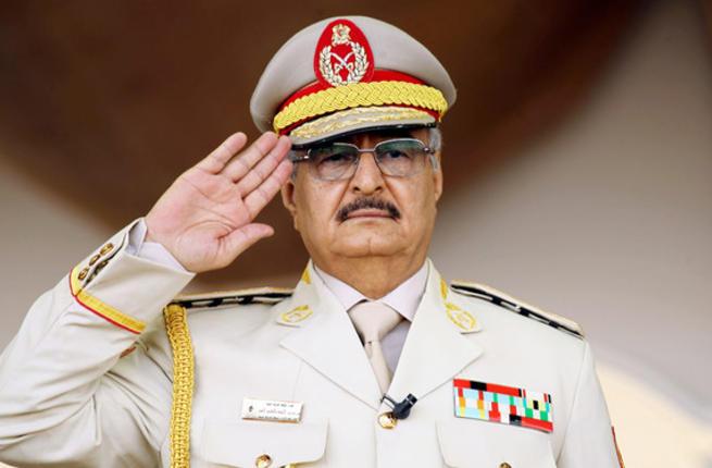 Libya's General Khalifa Haftar. (AFP/ File Photo)