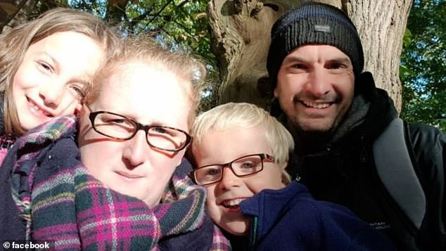 Charlie's parents Laura and Steve Parkes (pictured with their son and seven-year-old daughter Chloe) claim they have lost friends who accuse them of making their son's condition up