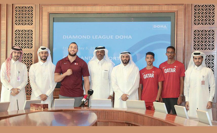 Qatar Athletes Ready for Diamond League