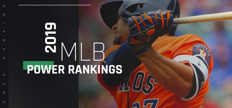 Red-hot Astros stay at top; Yankees, Cubs nosedive out of top 10