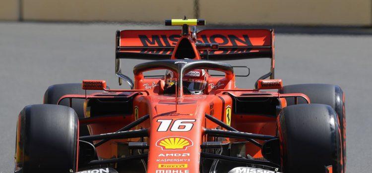 Leclerc fastest in 3rd practice as Ferrari dominates