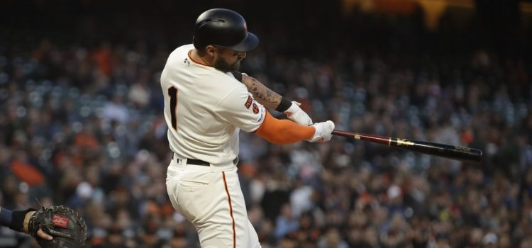 Pillar drives in 4 runs again, Giants beat Padres 7-2