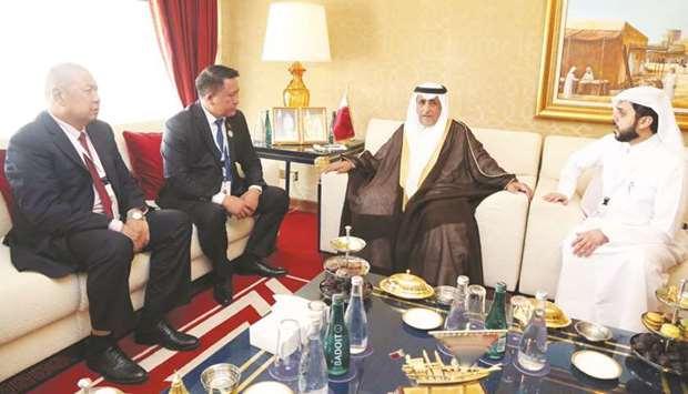 Qatar, Kyrgyzstan review parliamentary ties