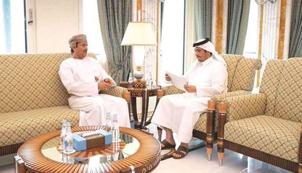 FM receives message from Oman's minister