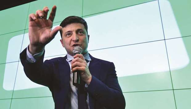 Ukraine's president-elect counters 'offer' by Putin