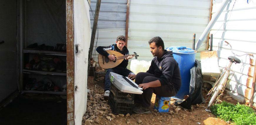 Refugee Teens Showcase Their Hidden Musical Talents