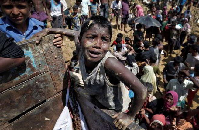 Rohingya refugees in Bangladesh. (AFP/ File Photo)