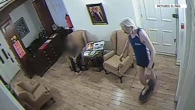Julian Assange Skateboarding CCTV Footage Makes Rounds on Internet