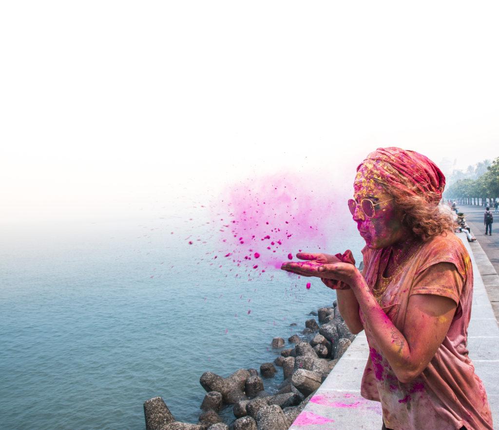 Holi in Mumbai | Holi Female Photos | Best Holi Photos