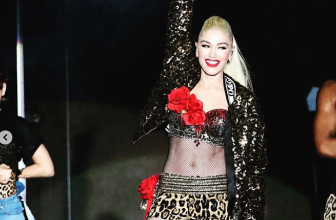 this was Stefani's first public performance in the emirate (Source: gwenstefani / Instagram)