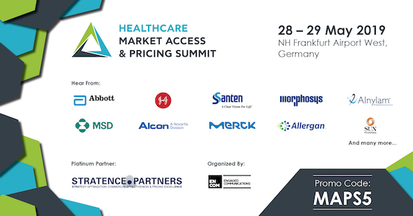 Healthcare Market Access & Pricing World Summit banner 600x314