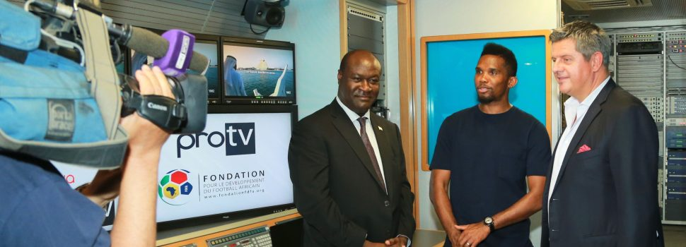 ProTV and FDFA Announce Launching a Cooperation Program for Audiovisual Training in Africa under the Patronage of Samuel ETOO