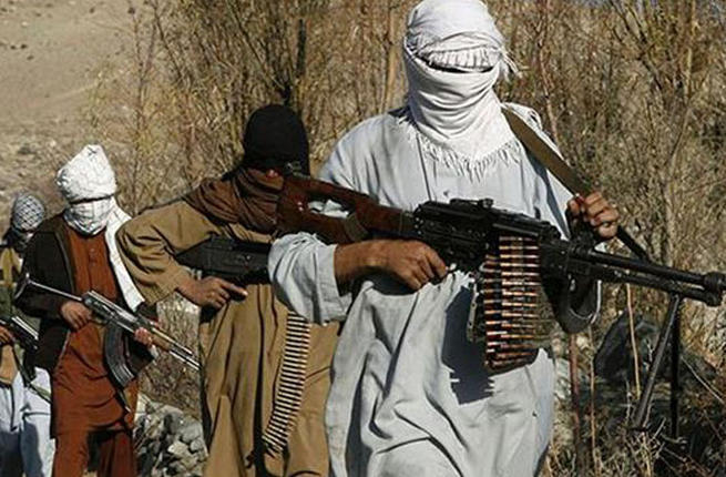 Taliban militants in an undisclosed location in Afghanistan. (AFP/File Photo)