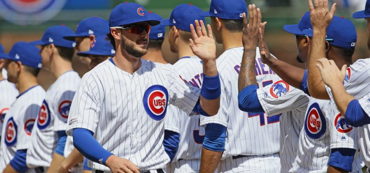 MLB wrap: Cubs crush Pirates in home opener, Mike Trout robs Christian Yelich