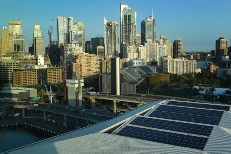 Sydney goes green, commits to 100 per cent renewable energy by 2050
