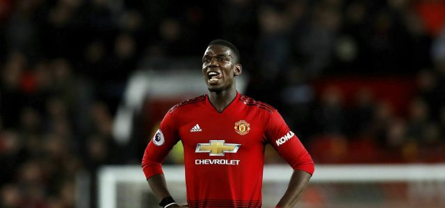 Pogba selected in Premier League team of the season