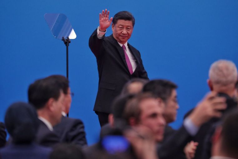 China's President Xi says over US$64 billion in deals signed at Belt and Road summit