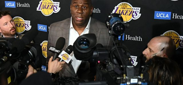 Magic Johnson resigns as Lakers president: 10 bizarre quotes from the unexpected announcement