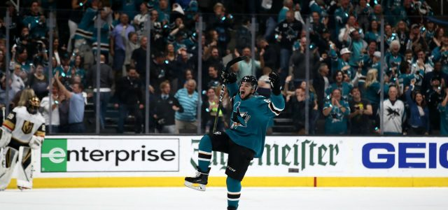 Sharks avenge Joe Pavelski injury with historic power play in Game 7