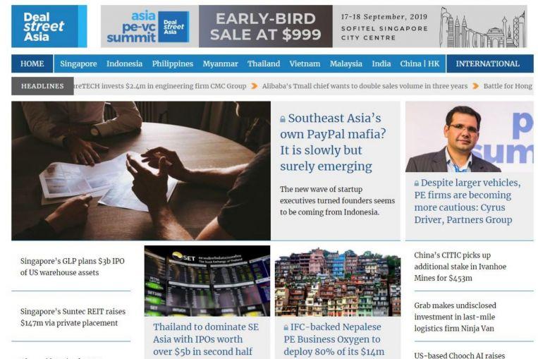 Nikkei buys Singapore-based media start-up DealStreetAsia