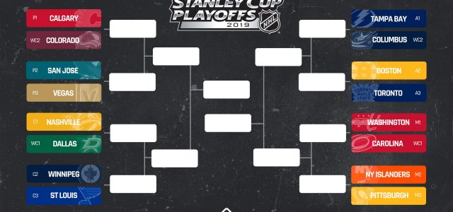 NHL playoffs schedule 2019