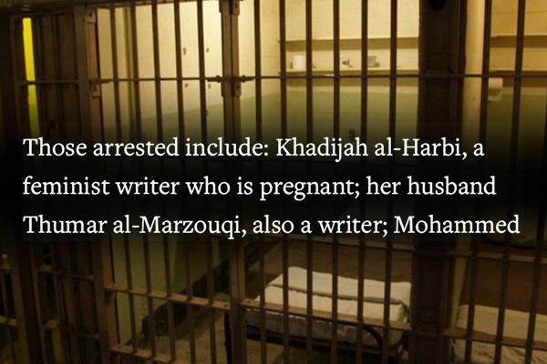 Saudis Campaign Against Arbitrary Detention of Pregnant Activist