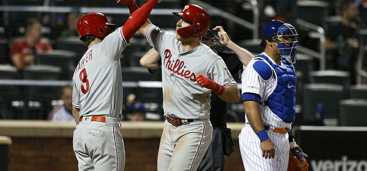Rhys Hoskins trolls Mets, and the other coolest things from last night