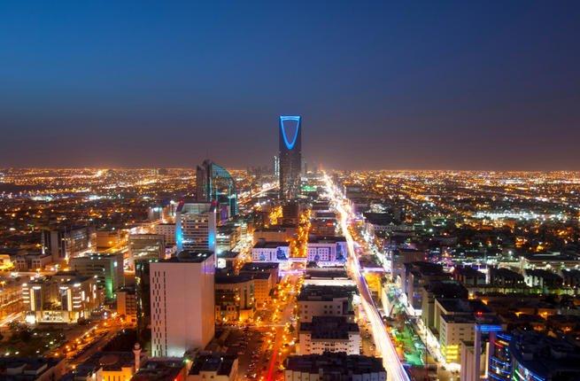 Riyadh skyline at night. (Shutterstock/ File Photo)