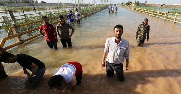 Drama Therapists Team Dispatched to The Flooded Region in Iran
